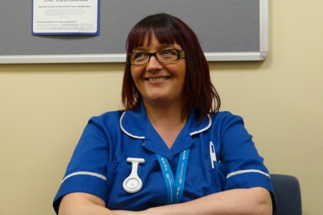 Jane from Armley Moor Health Centre