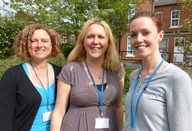 Photo of some of the workers involved in the Peer Support and Personalisation Project