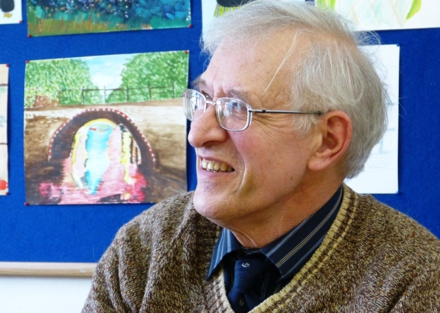 Richard, member of the Cross Gates and District Good Neighbours Scheme