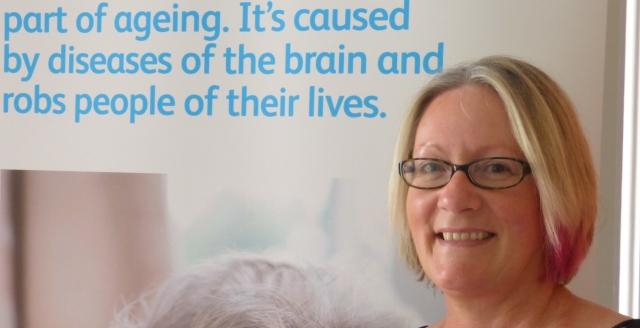 Samantha Jenkinson Leeds Alzheimers Society