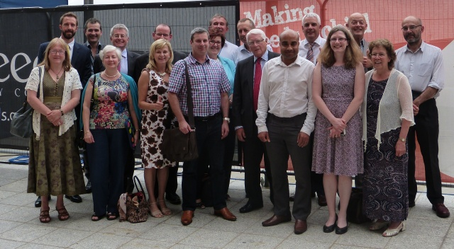Leeds Health and Wellbeing board members