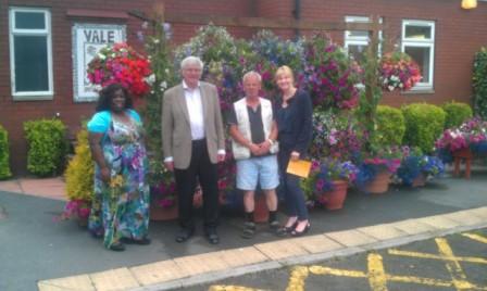 My visit to the Vale with Janet Hamilton, Cllr. Hanley, Eli Sherriff and Debbie Ramskill