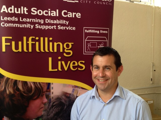 Neil Morrisroe, service delivery manager at Leeds Learning Disability Community Support Service