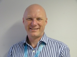 Derek Johnson, Principal Catering Manager at Leeds Community Meals
