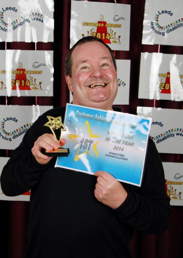 Seamus Friel - Volunteer of the Year