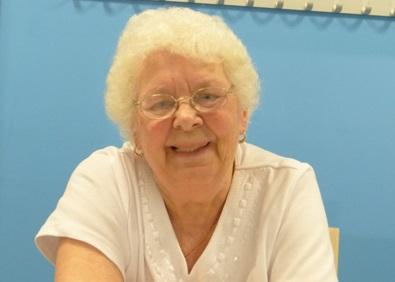 Doreen, a service user at Holt Park Active