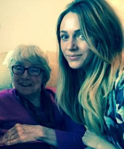 My Nan and I #NotByMySelfie