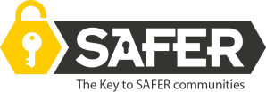 WYJS SAFER Logo-ArrowGreyStrap