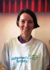 Gwen Oates, Dementia Cafe Co-ordinator for the Alzheimer's Society and now Patient Leader