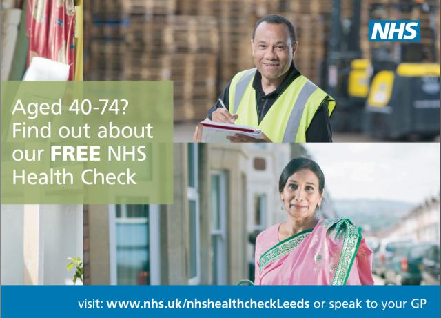 free NHS health check