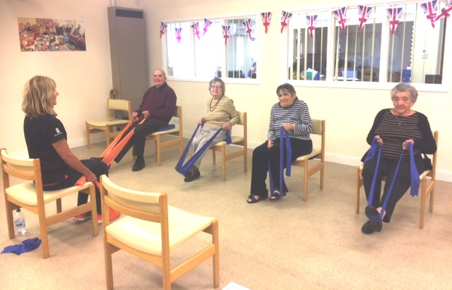 Chair-based exercise group