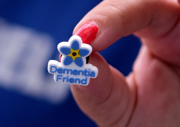 Dementia Friends Pin Badge