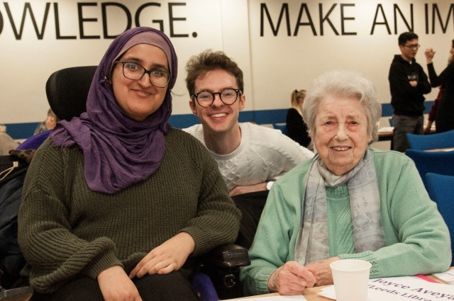 Writing Back: a pen pal programme for Leeds students and older