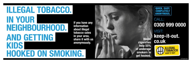 Illegal Tobacco CBSOutdoor127mmx381mm
